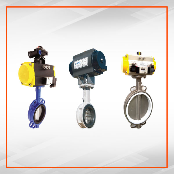 CONTROL BUTTERFLY VALVE